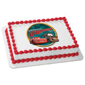 Cars Victory Lane ~ Edible Icing Image