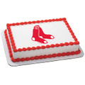 MLB Boston Red Sox ~ Edible Icing Image