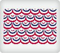 Patriotic Banner Edible Icing Image