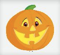 SMILING PUMPKIN Edible Image®