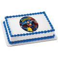 Superman Up, Up and Away ~ Edible Icing Image