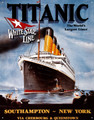 Titanic World's Largest Liner Birthday ~ Edible Icing Image