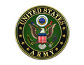 US Army Logo Birthday - Edible Icing Image