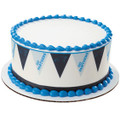 NFL Panthers Pennant ~ Edible Icing Image Border Strips