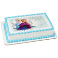 Frozen - Elsa & Anna Holiday Cheer ~ Edible Icing Image