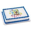 SpongeBob Happy ~ Edible Icing Image