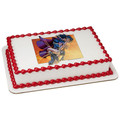 Wonder Woman and Superman ~ Edible Icing Image