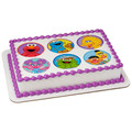 Sesame Street Celebration ~ Edible Icing Image