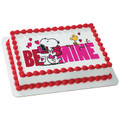 Peanuts: Be Mine Snoopy ~ Edible Icing Image