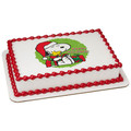 Peanuts: Happy Holidays ~ Edible Icing Image