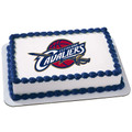 NBA Cleveland Cavaliers ~ Edible Icing Image