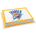 NBA Oklahoma City Thunder ~ Edible Icing Image