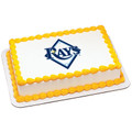 MLB Tampa Bay Devil Rays ~ Edible Icing Image