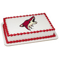 NHL Arizona Coyotes ~ Edible Icing Image