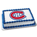 NHL Montreal Canadiens ~ Edible Icing Image