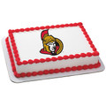 NHL Ottawa Senators ~ Edible Icing Image