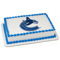 NHL Vancouver Canucks ~ Edible Icing Image