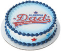 All-American Dad ~ Edible Icing Image