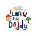 Artwork: I Love My Daddy ~ Edible Icing Image