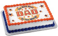 Best Dad in the World ~ Edible Icing Image