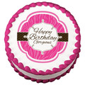 Happy Birthday Gorgeous ~ Edible Icing Image