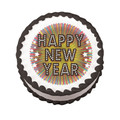 New Year: Sparkle ~ Edible Icing Image