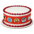 Daniel Tiger's Neighborhood Hi Neighbor ~ Edible Icing Image Border Strips