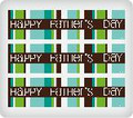 Happy Father's Day ~ Edible Icing Image Border Strips