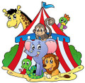 Circus Animals ~ Edible Icing Image