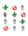 Ghostbusters Edible Icing Image Cupcake Sheet 12 images per sheet as shown