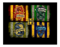 Harry Potter Hogwarts Crests Edible Icing Image