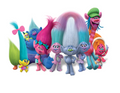 Trolls The Movie Edible Icing Image