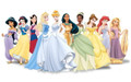Disney Princesses Edible Icing Image
