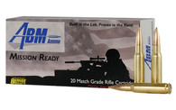 ABM AMMO PT#60010 308 WIN 175 GR. BERGER MATCH OTM