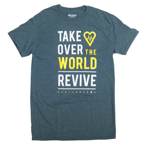 Grey Take Over The World - Tee