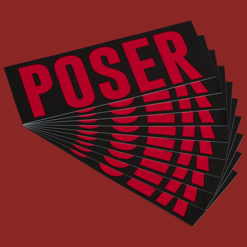 Sticker Pack - Poser