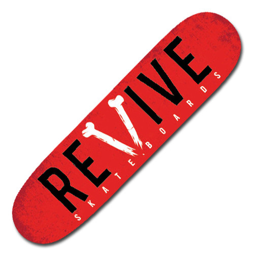 "Red ""Broken"" - Deck"