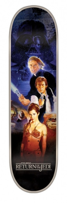 8.375in x 32in Star Wars Return Of The Jedi Poster Team