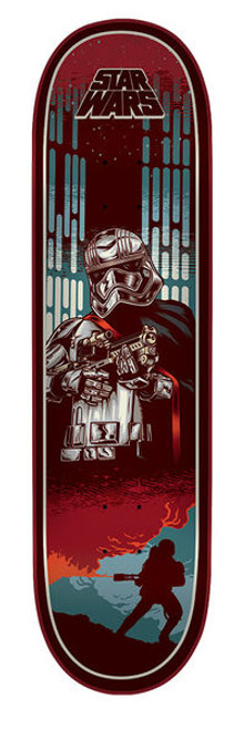 Santa Cruz - 8.0IN X 31.6IN STAR WARS EPISODE VII CAPTAIN PHASMA DECK