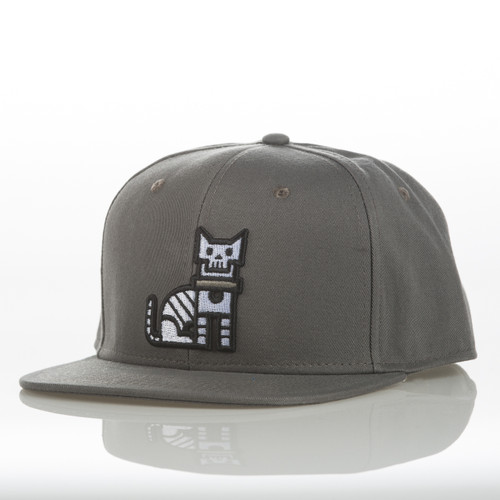 Grey CatLife - Snapback Hat
