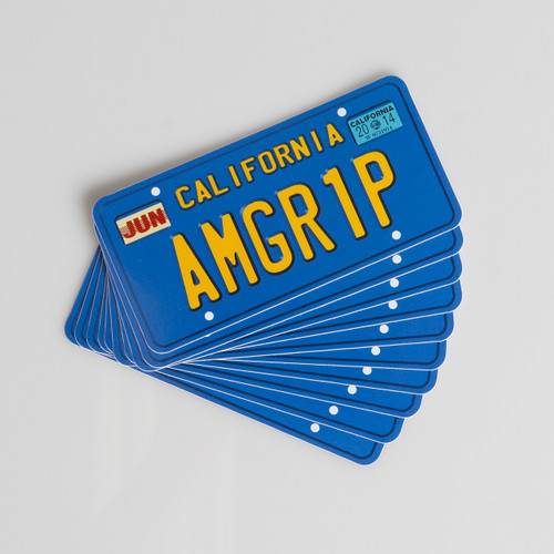 Sticker Pack - AMGR1P License Plate