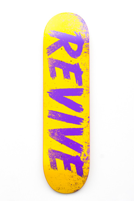 Yellow/Purple Sketch - Deck