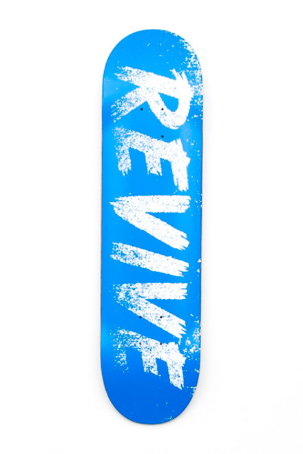 Blue/White Sketch - Deck