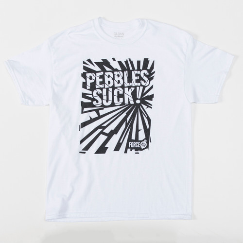 Pebbles Suck! Shattered - Tee