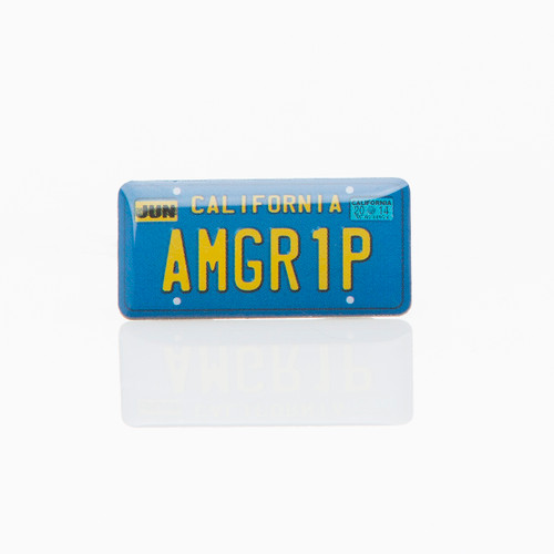 License Plate Pin
