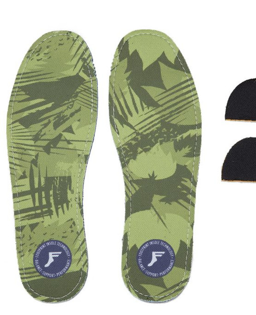 Footprint Insoles - KINGFOAM INSOLES – ULTRA LOW PROFILE 3.5 MM – YELLOW CAMO