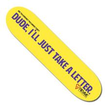 Dude, Letter - Deck