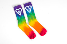 Tie Dye Emblem - Socks