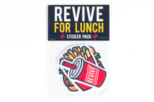 Revive For Lunch - Sticker Pack