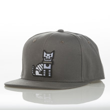 Grey CatLife - Snapback Hat